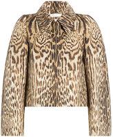 Chloé Animal Print Jacket