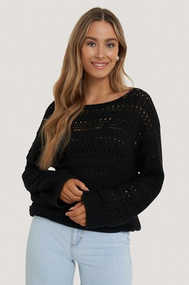 NA-KD Slouchy Knitted Sweater