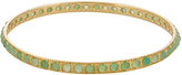 Irene Neuwirth Chrysoprase & yellow-gold bangle
