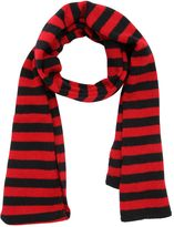 Saint Laurent Striped Shetland Wool Scarf