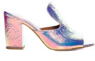 Paris Texas Iridescent Mule