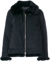 Tatras fur trim zip jacket