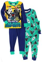 Lego Star Wars Boys 2fer 4 piece Pajamas Set