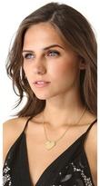 Jennifer Zeuner Jewelry Solid Heart Necklace