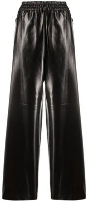 Bottega Veneta Polished Finish Wide-Leg Trousers
