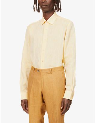 Paul Smith Regular-fit linen shirt