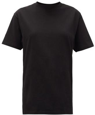Hanes X Karla - The Original Cotton Jersey T Shirt - Womens - Black