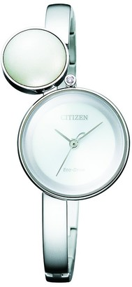 Citizen Womens Analogue Quartz Watch with Stainless Steel Strap EW5490-59A