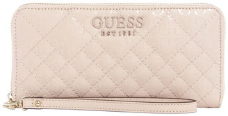 GUESS SG766646NUD Queenie Zip Around Wallet