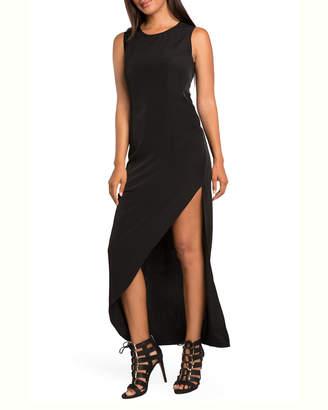 Standards & Practices Artemis Asymmetrical Hem Maxi Dress