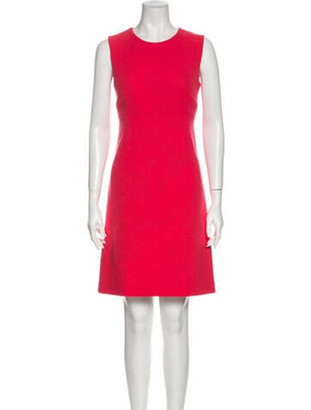 Dolce & Gabbana Wool Mini Dress Wool