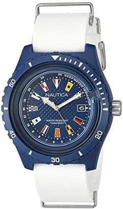 Nautica Men's 'Surfside' Quartz Resin and Silicone Casual Watch