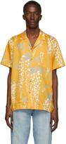 Double Rainbouu Yellow Over The Falls Hawaiian Shirt