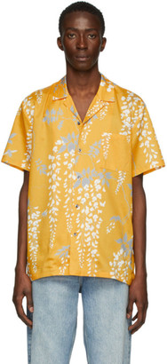 Double Rainbouu Yellow Over The Falls Hawaiian Shirt