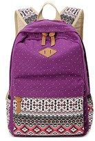 Greeniris Women Causal Backpack Zipper Schoolbag Modern Tote Lady Rucksack for Teenage Girl