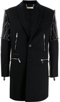 Philipp Plein single-breasted studded coat