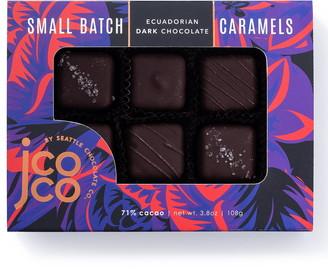 Seattle Chocolate Dark Chocolate Caramels 6-Piece Gift Box
