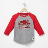 Roots Boys Canada Baseball T-shirt