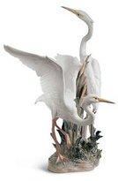 Lladro Porcelain Figurine Herons
