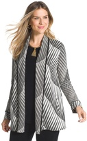 Chico's Textured Jacquard Jacket