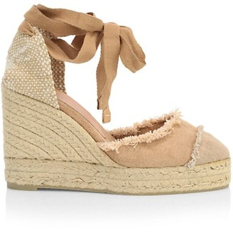 Castaner Catalina Canvas Platform Wedge Espadrilles