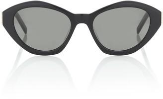 Saint Laurent M60 oval sunglasses