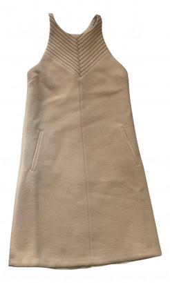 Bottega Veneta Beige Wool Dresses