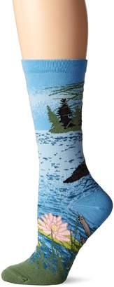 Ozone Women's Loon Lake Sock Blue 9-11