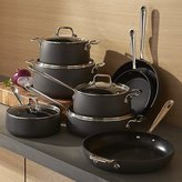 Crate & Barrel All-Clad ® HA1 Hard-Anodized Non-Stick 13-Piece Cookware Set