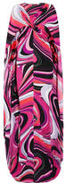 Emilio Pucci Cape-effect Printed Silk Gown - Pink