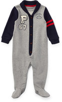 Ralph Lauren Fleece Shawl Coverall, Size 3-9 Months
