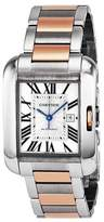 Cartier Women's W5310007 Tank Anglaise Analog Display Automatic Self Wind Two Tone Watch