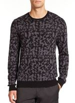 Camouflage Crewneck Sweater