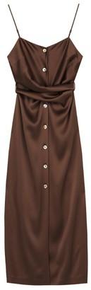 Nanushka Satin Sayan Slip Dress
