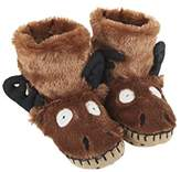 Hatley Slouch - Moose, Boys' Slippers, XL Child UK