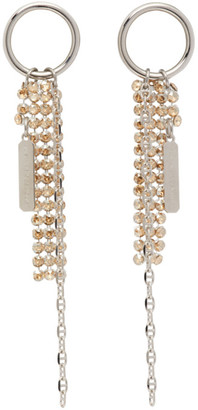 Justine Clenquet Silver Kay Earrings