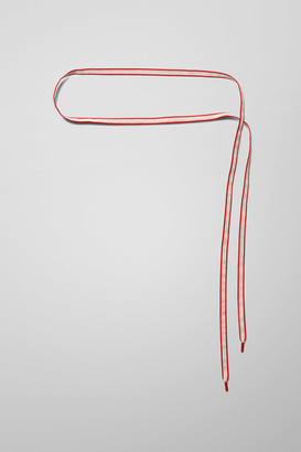 Weekday Tink Shoe Lace Belt - Red