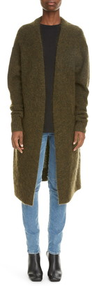Acne Studios Raya Wool & Mohair Blend Cardigan