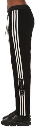 Y-3 Wide Leg Wool Blend Knit Pants