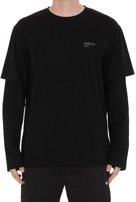 C2H4 Double Layered Long Sleeves T-shirt