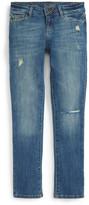 DL1961 Harper Distressed Slouchy Slim Leg Jeans (Big Girls)