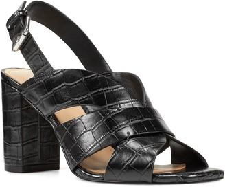 Nine West Jordana Women's Slingback Block Heel Sandals