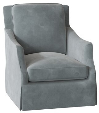 Bernhardt Sabine Swivel Armchair Body Fabric: 2293-034