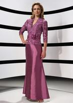 Alyce Paris Mother Of The Bride - Dress In Aubergine 29143