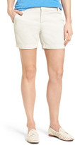 Caslon Cotton Twill Shorts (Regular & Petite)