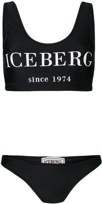 Iceberg Logo Bikini