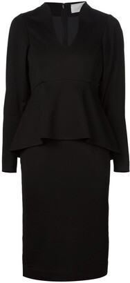 Mame Kurogouchi Waist Peplum Dress