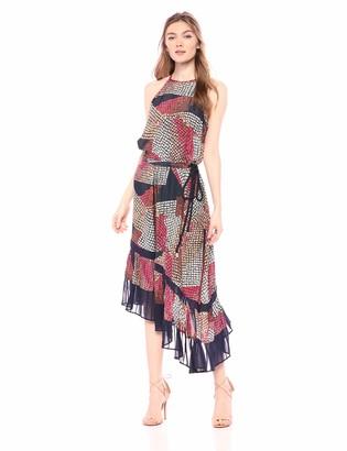 Ramy Brook Women's Calliope Printed MIDI Dress