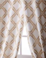 "Creative Threads Stag Linen/Cotton Curtain, 96"""