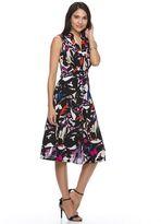 Dana Buchman Women's Crepe Fit & Flare Dress